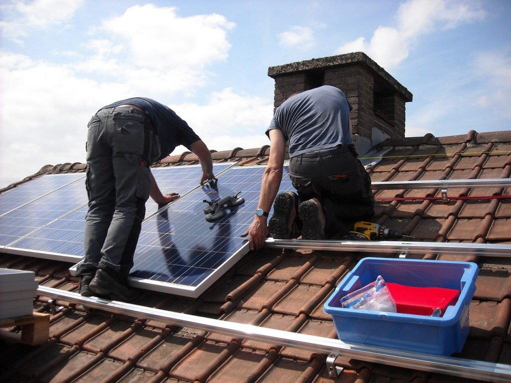 Installation système solaire